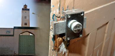 المسجد العتيق بالحي المدني بالناظور يتعرض لسرقة مجموعة من أجهزته الإلكترونية من طرف أشخاص مجهولين