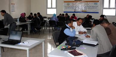 """""""التخطيط الاستراتيجي"""" موضوع دورة تكوينية لفائدة الجمعيات باقليم الدرويش"""
