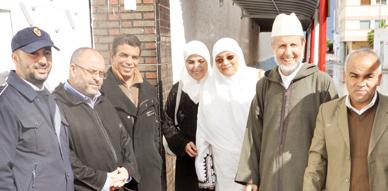 المجلس العلمي بالناظور يدخل الفرحة والسرور على نزلاء السجنين الفلاحي والمدني بمناسبة عيد الأضحى المبارك