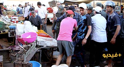 احتجاجات الساكنة المجاورة للمستشفى الحسني تٌحرك السلطات المحلية لتحرير الملك العام