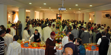 عامل إقليم الناظور يستقبل فعاليات الإقليم بمناسبة عيد الأضحى المبارك