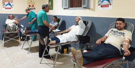الحسيمة الأولى وطنيا من حيث نسبة التبرع بالدم