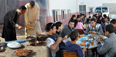 جمعية المنار بالناظور تدخل البهجة في وجه أطفال الخيرية الإسلامية بإفطار جماعي