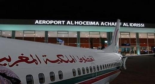 ارتفاع عدد مستعملي مطار الحسيمة خلال الشهر الماضي