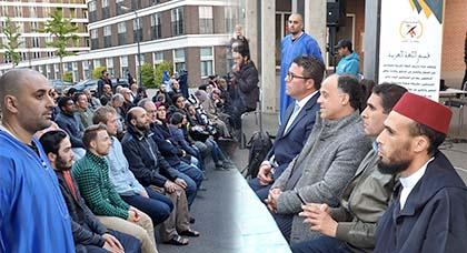 هولندا.. المعهد الإسلامي دار الهدى بتعاون مع مؤسسة الشباب والمستقبل ينظم حفل إفطار بأمستردام