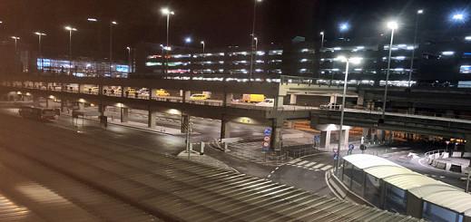 إخلاء مطار بروكسل بسبب إنذار بوجود قنبلة