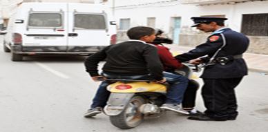 شرطة الناظور تشن حملة أمنية جديدة على مستعملي الدراجات النارية بالمدينة
