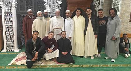 بمناسبة ليلة القدر مسجد المتقين ببروكسيل يكرم بعض رجالاته