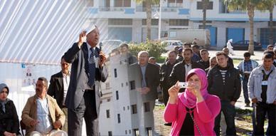 """الطاهر التوفالي يطالب الناخب الناظوري بعدم التصويت على """"الشلة المفسدة"""" في مهرجان خطابي بالناظور"""