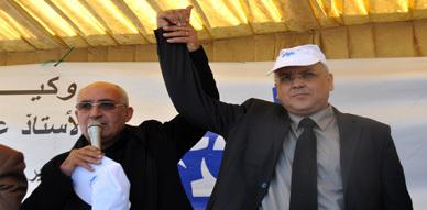 """خوجة يؤكد خلال تجمع خطابي لـ """"البام"""" بأزغنغان على أن انتخابات 25 نونبر فرصة مواتية للحد من تلاعب المفسدين بالبلاد"""
