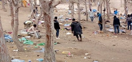 وفاة مهاجر غيني في أحراش النّاظور تشدّد مراقبة الحدود المغربية