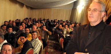 نور الدين البركاني ينظم حفلا بهيجا عقب تصدره لنتائج الانتخابات على صعيد دائرة إقليم الناظور