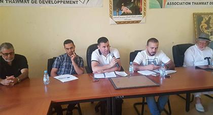 جمعية ثومات للتنمية تعقد جمعها العام بدار الكبداني