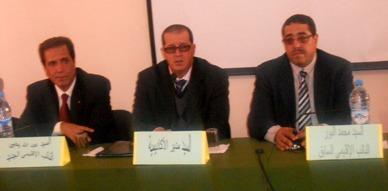 مدير أكاديمية الجهة الشرقية يترأس حفل تنصيب عبد الله يحيى نائبا جديدا لنيابة التعليم بالناظور