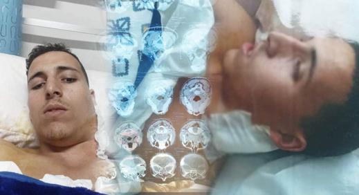 شاب من نواحي الدريوش مصاب بالسرطان يناشد مساعدته توفير مصاريف العلاج