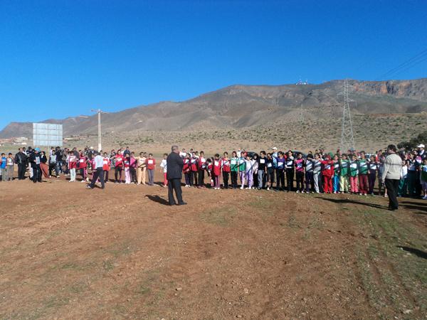 مدينة زايو تحتضن البطولة الإقليمية  للعدو الريفي  المدرسي بإقليم الناظور