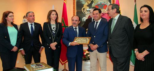 اتفاق على إنشاء لجنة تقنية للتعاون بين الأندلس وجهة طنجة الحسيمة