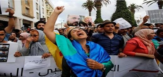 عائلات معتقلي حراك الريف: معتقلان يخيطان فمهمها احتجاجا على تعرضهما للإهمال الطبي