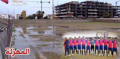قناة الرياضية تكشف عورة البنيات التحتية الرياضية بالناظور وفتح الناظور يعتزم الإحتجاج أمام مقر وزارة الشباب والرياضة