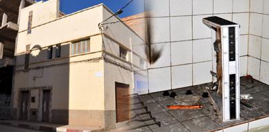 عناصر مجهولة تسطو على إحدى المنازل بحي أولاد براهيم بالناظور وتستهدف جميع المواد النحاسية في عملية السرقة