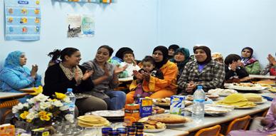 مدرسة الجاحظ (1) بالناظور تحتفل بالسنة الهجرية الجديدة بمعية مستفيدات من برنامج محو الأمية