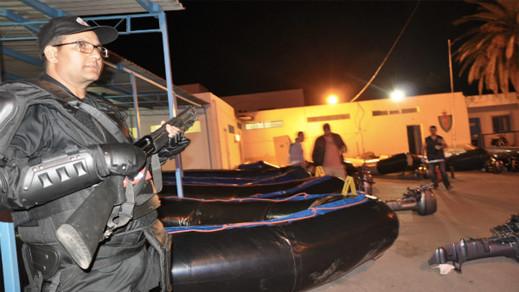 إمزورن.. توقيف خمسة أشخاص يشتبه في تورطهم في تنظيم الهجرة غير الشرعية والاتجار بالبشر