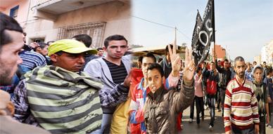 نشطاء حقوقيون وحركة 20 فبراير تدخل على خط قضية الضحية محمد سليمان بمسيرة إحتجاجية تضامنية
