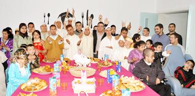 مركز الخير لإدماج الأطفال ذوي الإعاقة الذهنية بالناظور ينظم حفلا بهيجا بمناسبة حلول رأس السنة الهجرية الجديدة
