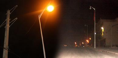 الشارع الرئيسي بمدينة سلوان في ظلام دامس منذ ازيد من 3 سنوات والجهات المسؤولة خارج التغطية