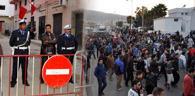 """""""الشعب يريد من قتل الشهيد"""" شعار مسيرة إحتجاجية عقب تشييع جثمان الضحية محمد سليمان ببني انصار"""