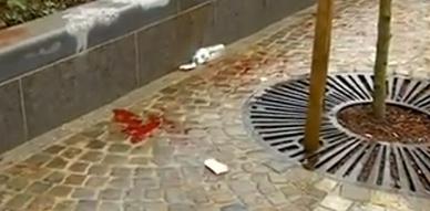 هجوم مسلح لمغربي بساحة ساحة سان لومبير بلييج البلجيكية