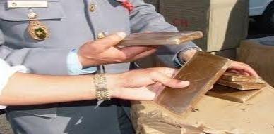 عناصر الدرك الملكي بسلوان تتمكن من حجز 4 كيلوغرامات و نصف من مخدر الشيرا