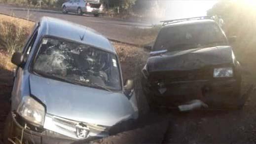 إصابة 3 أشخاص بجروح في حادث اصطدام ثلاث سيارات قرب بن الطيب