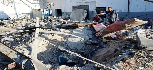 السلطات تشرع في ترحيل جثامين المغاربة ضحايا قصف مركز الهجرة غير النظامية بليبيا