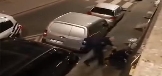 بالفيديو : إيقاف ضابط شرطة في بروكسل عن العمل متهم بالإعتداء على أحد المهاجرين بالضرب