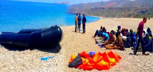 الدرك يفشل رحلة سرية لـ55 مهاجرا إفريقيا كانوا سيبحرون صوب إسبانيا من شاطئ أركمان