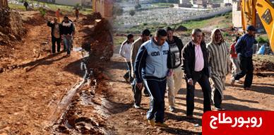 ساكنة حي إكوناف سيدي سالم بالناظور تدق ناقوس الخطر حول واقع البنيات التحتية بالحي وتحمل المسؤولية للمجلس البلدي