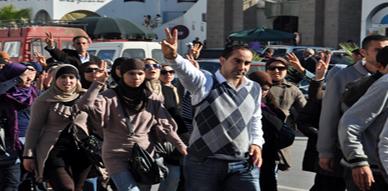 فروع الريف للطلبة المعطلين تصعد من لهجتها وتعتزم نسف مباراة التوظيف التي تنظمها وزارة الداخلية
