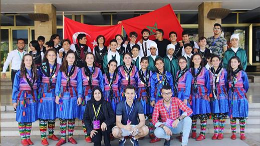 """من بين 30 دولة أجنبية : الناظور تمثل المغرب في المهرجان الدولي """"أطفال السلام""""  بسلا"""