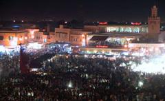نجوم ومشاهير يحتفلون برأس السنة في مدينة مراكش