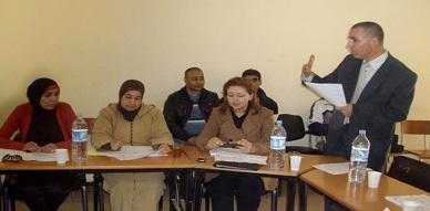 ورشة جماعية بقرية أركمان حول إعداد البطاقة التقنية للمشاريع المقترحة
