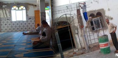 مواطنون يشتكون من إقدام شخص على تخريب مسجد بفرخانة لتصفية حسابات سياسية