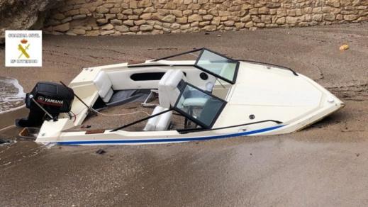 بالصور.. إحباط محاولة للهجرة السرية الى إسبانيا من وسط مليلية على متن قارب ترفيهي