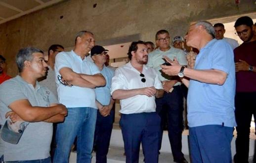 الوالي مهيدية يستنفر المسؤولين لتفقد مشاريع منارة المتوسط بالتزامن مع تواجد الملك بالحسيمة