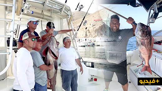 إسبان ينظمون مسابقة في الصيد البحري بشواطئ مدينة الحسيمة