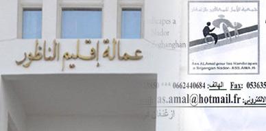 جمعية الأمل للمعاقين بأزغنغان تطالب عامل الإقليم بتحديد نسبة المناصب المخصصة للمعاقين في مباراة وزارة الداخلية