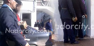 شجار يقود إلى إعتقال شخص  ضبطت لديه كمية كيلوغرامين من مخدر الشيرا  بساحة مسجد الحاج مصطفى بالناظور