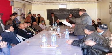 جمعية الأعمال الاجتماعية للسائقين المهنيين بسلوان تعقد جمعها الاستثنائي