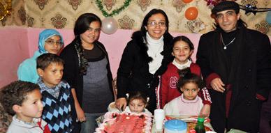 جمعية السلام للتنمية والثقافة بالناظور تحتفي بالأطفال المعوزين