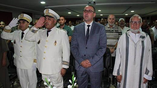 ميضار تحتفل بالذكرى العشرينية لتربع الملك محمد السادس على عرش أسلافه